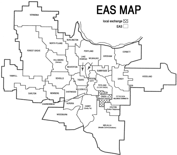 EAS Map